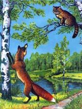 Отзыв о сказке «Кот и лиса»