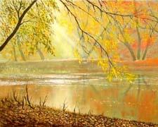 Стихи про осень Плещеева