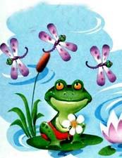 Сказка про лягушку
