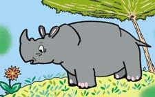 Сказка про носорога