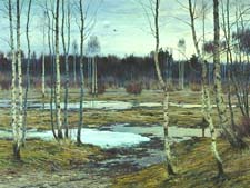 Стихи Жуковского про весну
