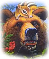 """Сказка """"Кузяр-Бурундук и Инойка-Медведь"""" В.Бианки. Слушать"""