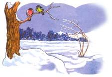 """Сказка """"Под снегом"""" Н.Сладков. Слушать"""