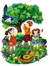 Детские стихи про поход на природу