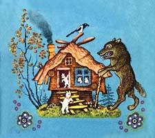 Сказка «Волк и семеро козлят». Слушать