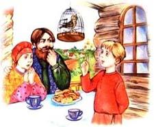 Русская народная сказка «Птичий язык». Слушать