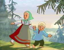 Рассказ о девочке из сказки «Гуси-лебеди»