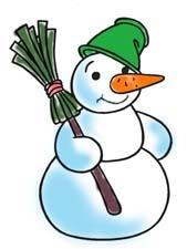 Как мы лепили снеговика. Рассказ детям