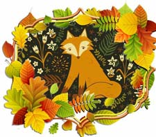 Осенняя сказка про животных