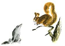 """Сказка """"Белка и волк"""" (Л.Н.Толстой). Слушать"""