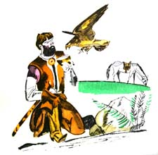 """Басня """"Царь и сокол"""" (Л.Н.Толстой). Слушать"""