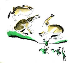 """Басня """"Зайцы и лягушки"""" (Л.Н.Толстой). Слушать"""