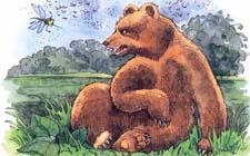 """Сказка """"Медведь и комар"""". Слушать"""