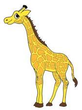 Сказка на ночь про жирафа. Читать и слушать