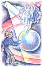Картинки из рассказа девочка на шаре драгунский