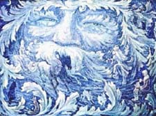 Сказка про Царя-Мороза. Зимняя сказка в стихах