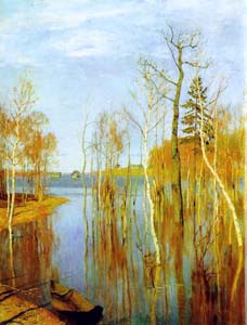 Сочинение по картине И.И.Левитана «Весна. Большая вода»