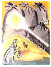 Анализ басни Л.Н.Толстого «Стрекоза и муравьи»