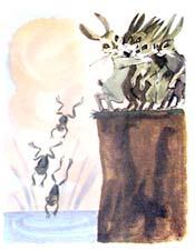 Анализ басни Л.Н.Толстого «Зайцы и лягушки»