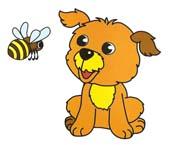 Сказка на ночь про щенка и пчелу. Читать и слушать