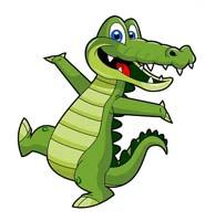 Сказка на ночь про танцующего крокодила. Читать и слушать