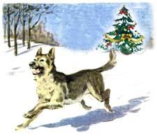 Новогодняя сказка про собаку. Читать и слушать