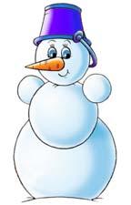 Снеговик картинки с детьми