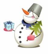 Стихи про Снеговика детям