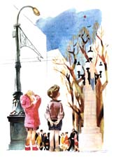 Вопросы к рассказу Драгунского «Красный шарик в синем небе» (с ответами)
