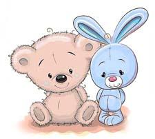 Сказка на ночь про зайчонка и медвежонка. Читать и слушать