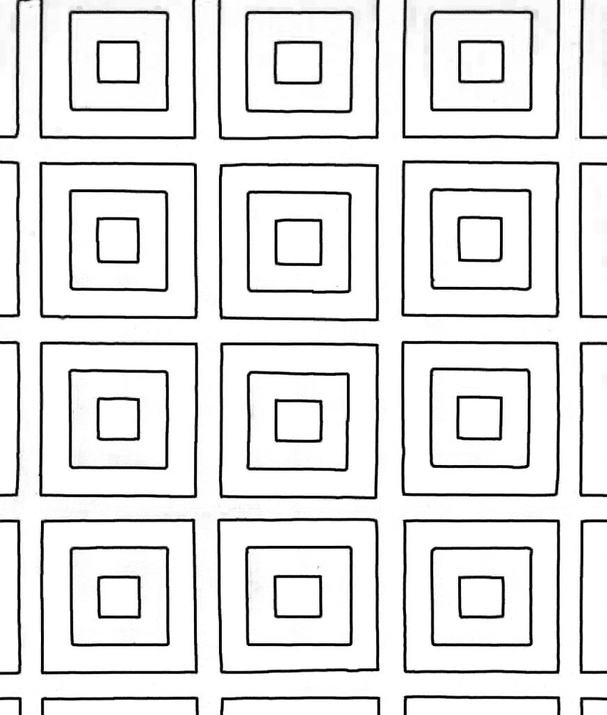 Раскраска геометрический орнамент 19