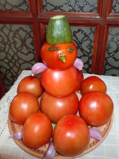 Загадки про помидоры