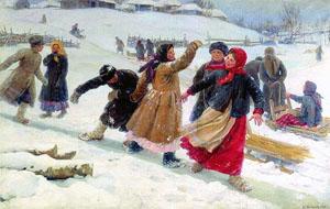 Стихи Ивана Сурикова о зиме