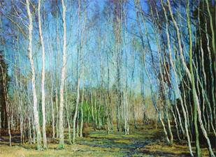 Весенний лес. Стихи о весне