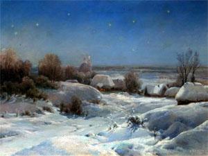 Стихи А.С.Пушкина про зиму