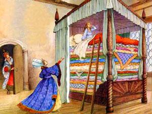 Принцесса на горошине (Г.-Х.Андерсен) - слушать сказку