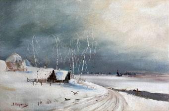 Стихи русских поэтов про зимнюю дорогу