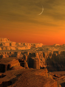 Сказочная история о планете Марс