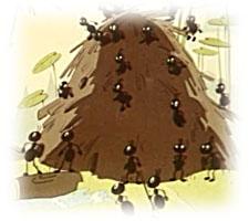 """Басня собственного сочинения в прозе. """"Сова и муравьи"""". Автор: Ирис Ревю"""""""