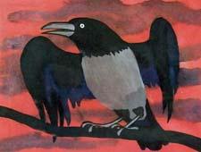 Сказочный рассказ про ворона. Слушать