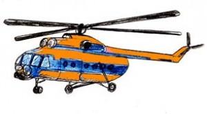 Стихи про вертолёт детям