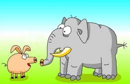 Сказка «Почему у свиньи рыло вытянутое?» Слушать