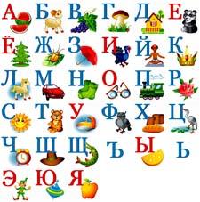 Рассказ о буквах детям