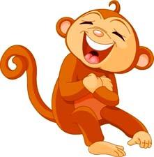 Частушки про обезьян