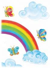 Сказка на ночь «Где живёт радуга». Читать и слушать