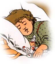 Сказка на ночь «Как Тиша сон искал». Читать и слушать