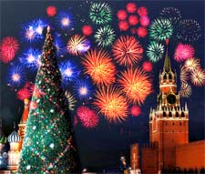 Сказка «Как Баба-Яга в Москву на Новый Год собралась»