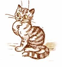 Сказочная история про домашнее животное кошку