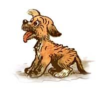 Сказочная история про домашнее животное собаку