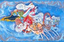 Сказка про Снегурочку и Деда Мороза
